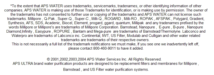 filters millipore milli-q reference systems | laboratory-water-supplies.com